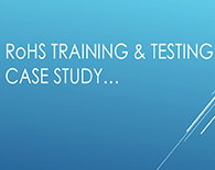 RoHS Compliance case study