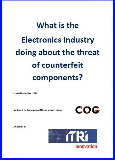 Electronics Industry Anti-counterfeiting Nov 2014 Update