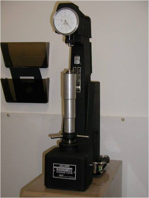 Rockwell Hardness Testing Service