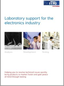 Electronics Test Services Brochure 2017